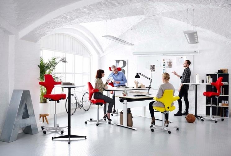 HÅG Capisco Sit Stand desking seating
