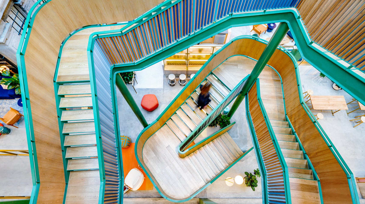 WeWork Shanghai Staircare
