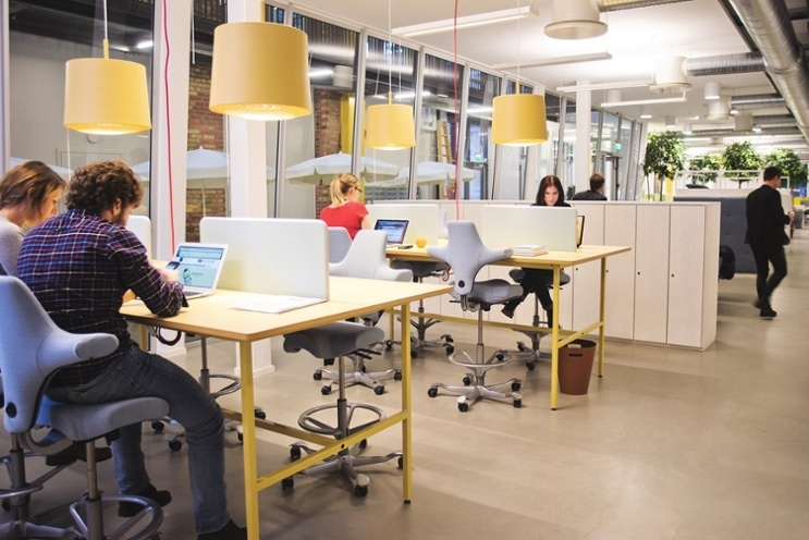 a shared working environment in sweden