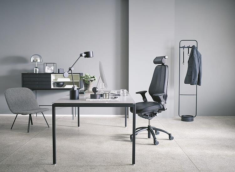 RH Logic Chair with Offecct pal high easy chair