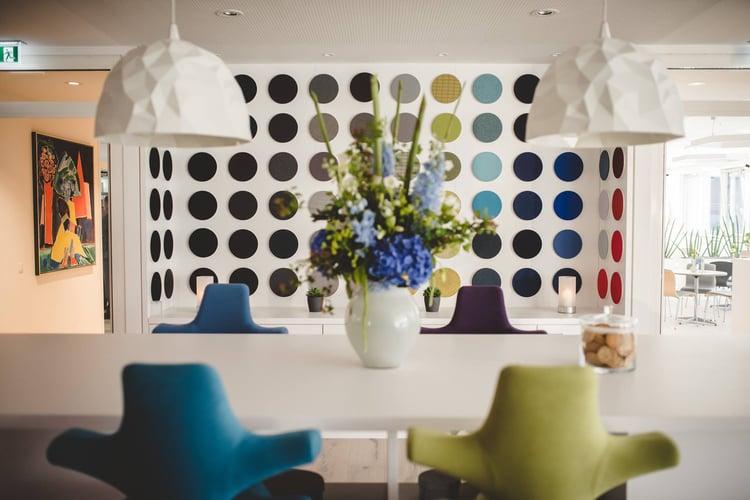 Flokk's Dusseldorf showroom was designed by M Moser