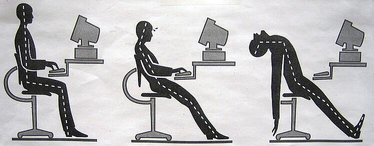 ergonomics of desk seating
