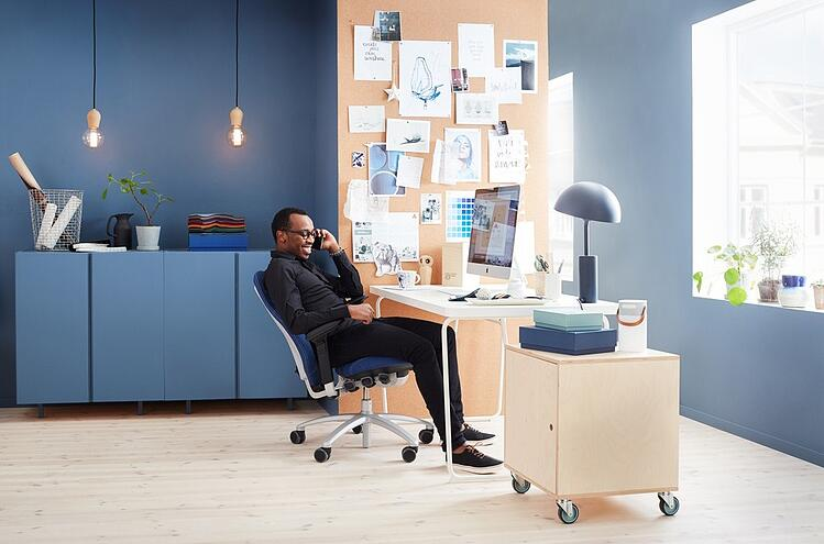 interior design effects wellbeing and productivity - healthy work environment