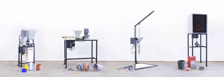 precious plastic machinery example