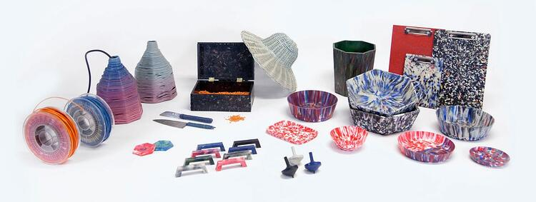 precious plastic product examples