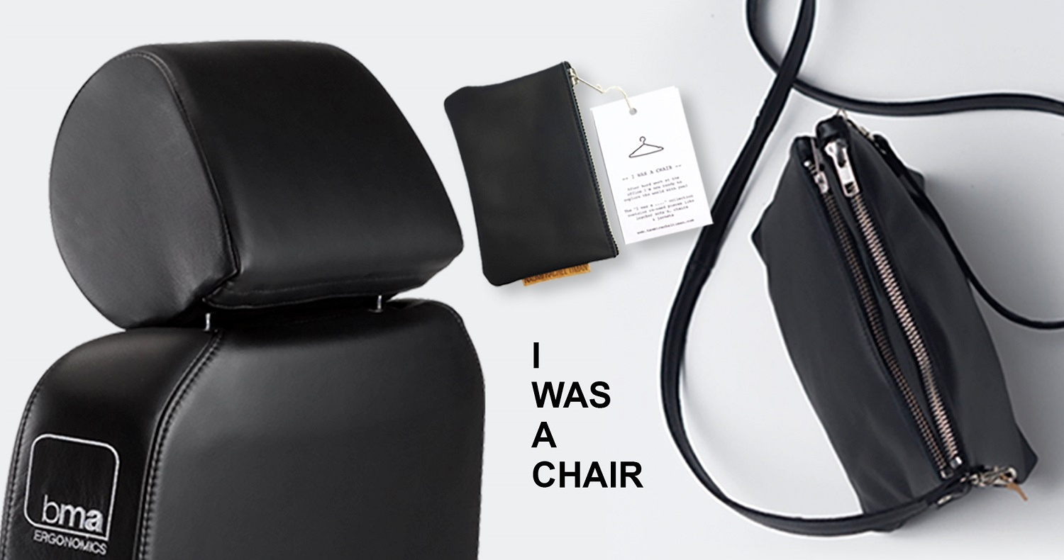 I was a chair BMA recycled leather