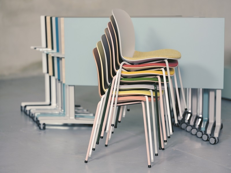 stackable and fold-able furniture