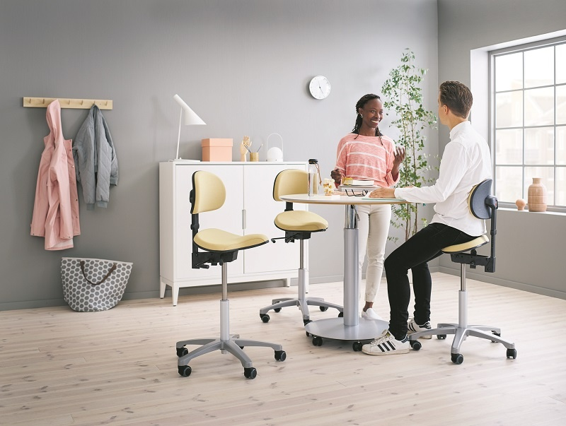 Rh support sit stand seating