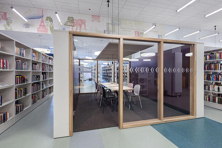 kamp lintfort mediatheque public library 4