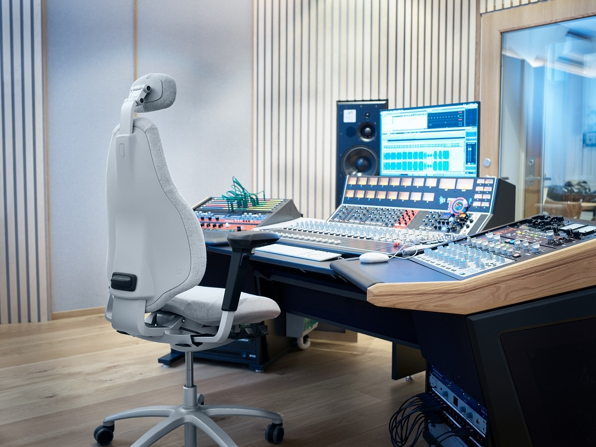 Tandero Mastering, Oslo - Chose the RH Mereo for their new Mixing Studio - side view