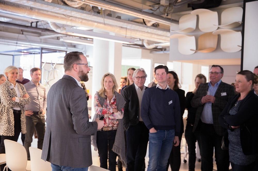 Agile by ABN AMRO' in the Flokk Design Center in Rotterdam