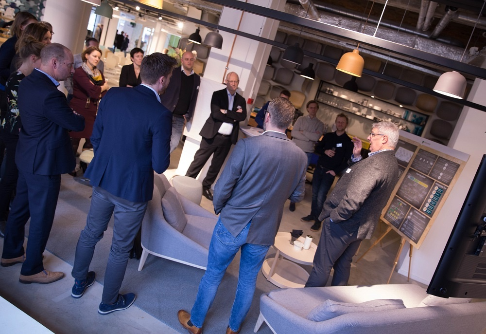 Agile by ABN AMRO' in the Flokk Design Center in Rotterdam