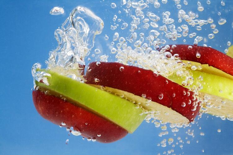 Provide healthy snacks and easy access to water at work