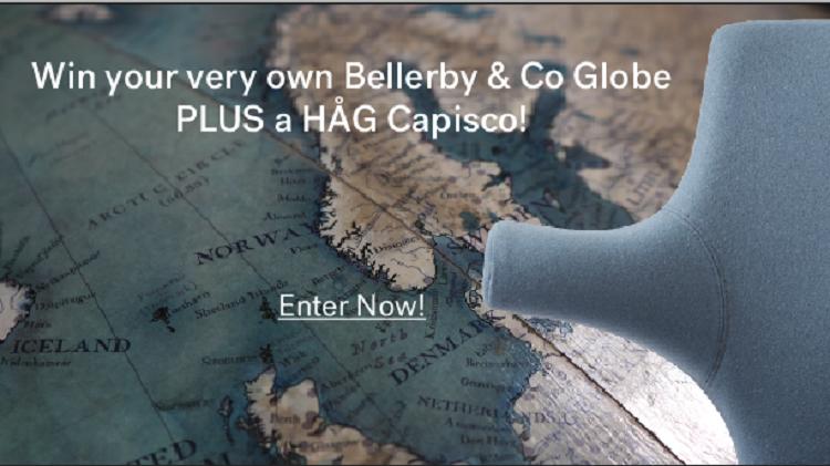 WIn a Bellerby & Co Globe