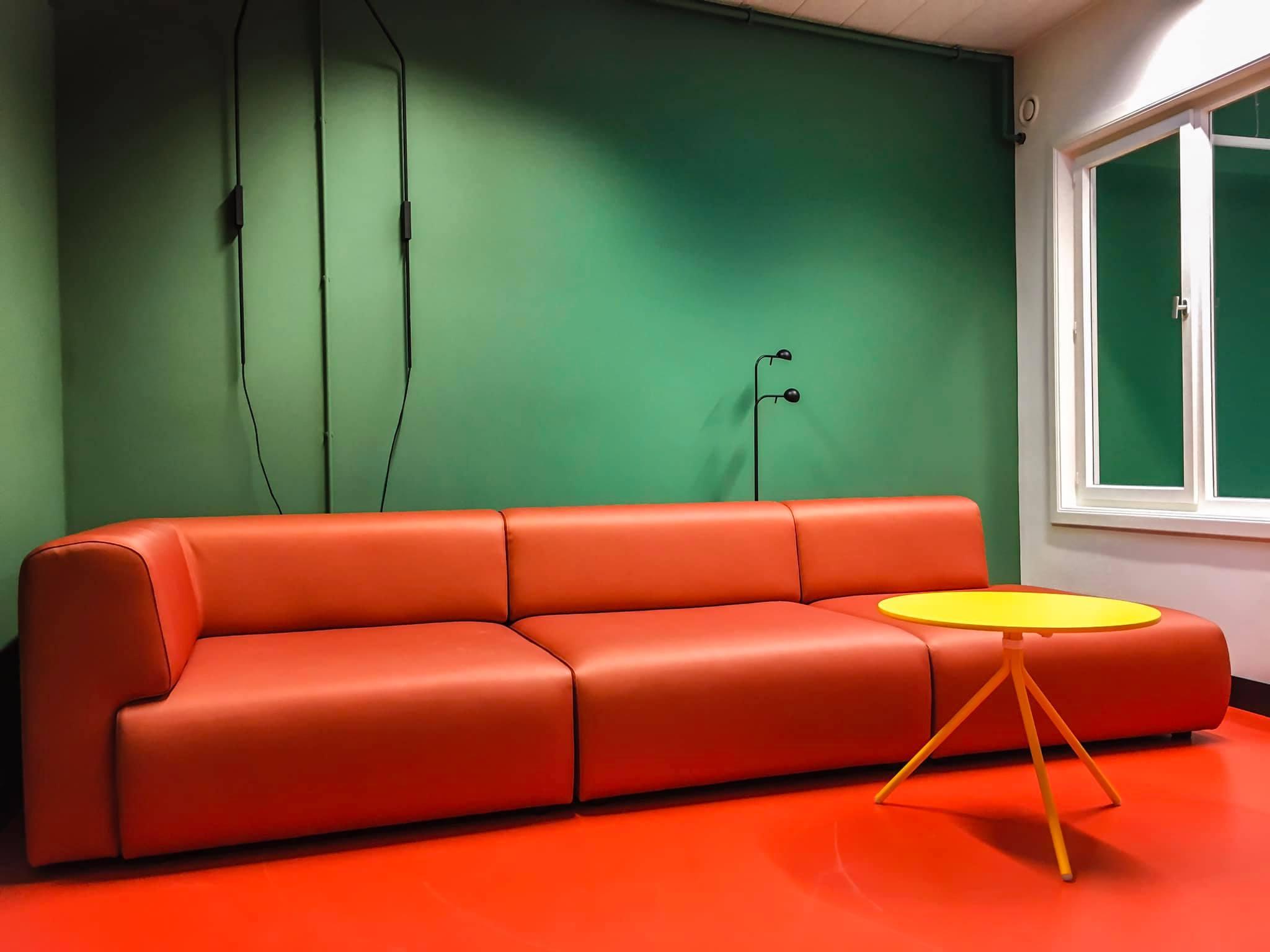 Foodies Arena Ghent Belgium, coworking office